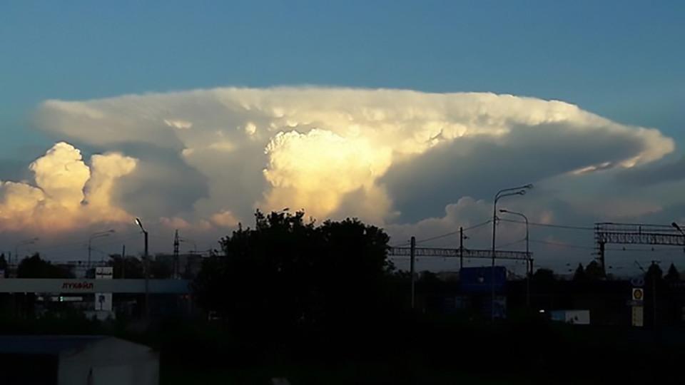 """Mây """"hạt nhân"""" bao trùm khiến người Nga hốt hoảng - 2"""
