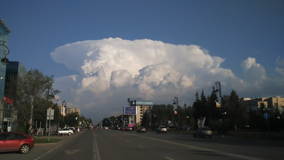 """Mây """"hạt nhân"""" bao trùm khiến người Nga hốt hoảng - 3"""