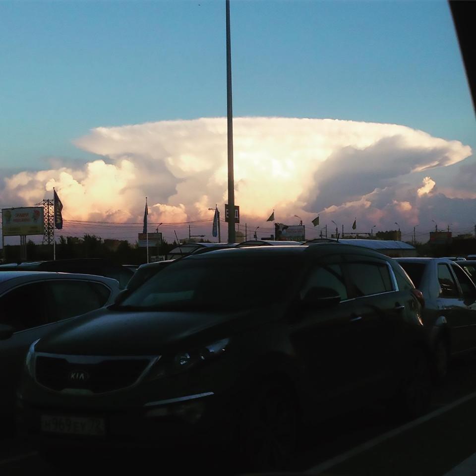 """Mây """"hạt nhân"""" bao trùm khiến người Nga hốt hoảng - 5"""