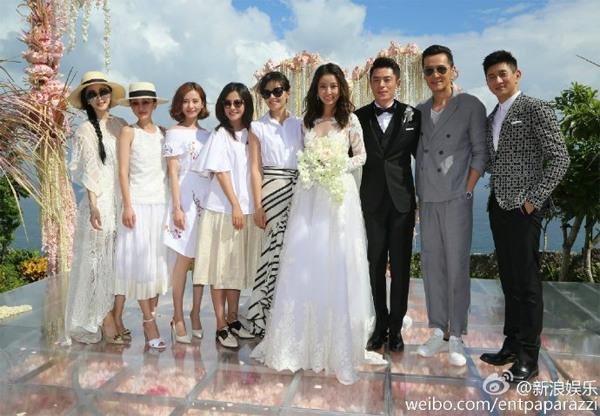 """So độ """"khủng"""" đám cưới Lâm Tâm Như và Huỳnh Hiểu Minh - 3"""