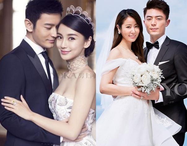 """So độ """"khủng"""" đám cưới Lâm Tâm Như và Huỳnh Hiểu Minh - 1"""