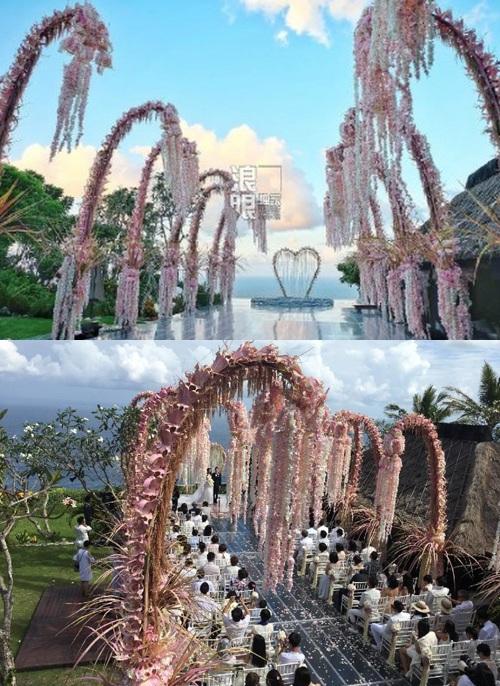 """So độ """"khủng"""" đám cưới Lâm Tâm Như và Huỳnh Hiểu Minh - 5"""