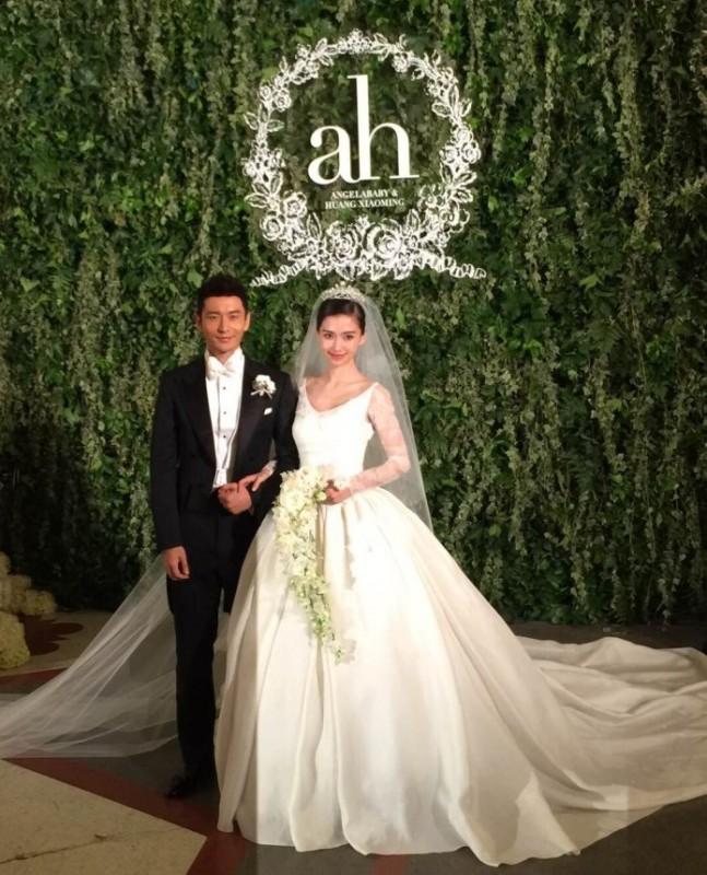 """So độ """"khủng"""" đám cưới Lâm Tâm Như và Huỳnh Hiểu Minh - 12"""
