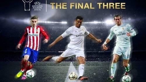 Cầu thủ hay nhất châu Âu: Messi bị loại, Ronaldo vào chung kết - 1