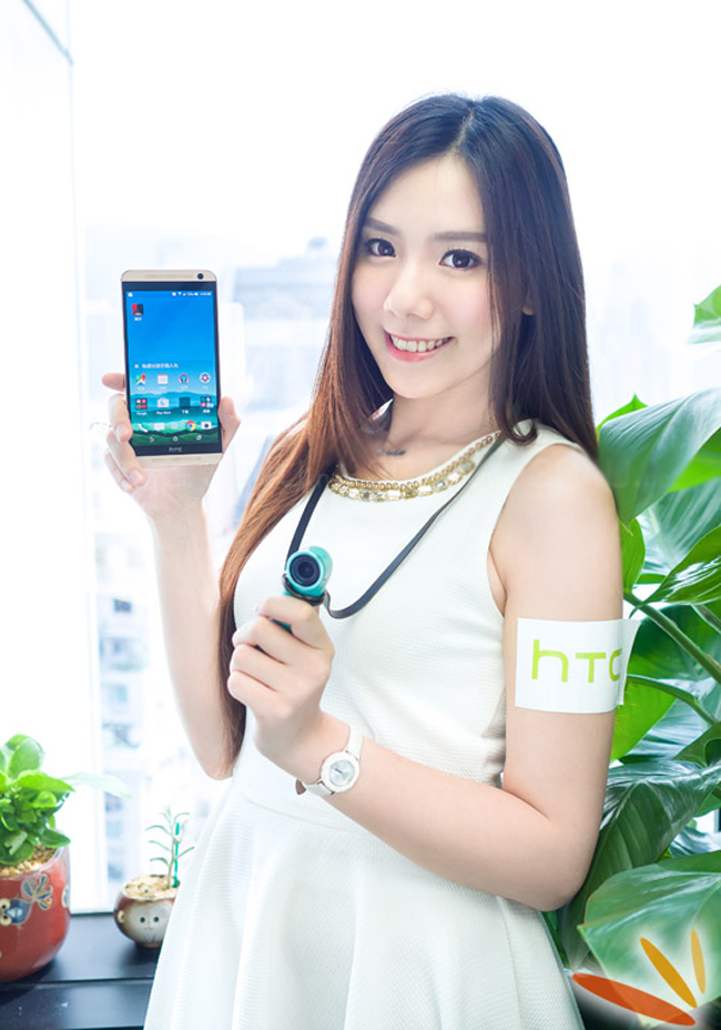 One E9+ chính là sự kết hợp giữa ngôn ngữ thiết kế của dòng HTC One cao cấp và dòng sản phẩm tầm trung Desire với vỏ nhựa thời trang.