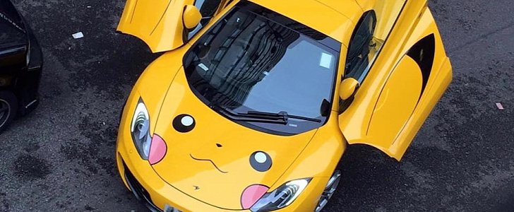 Soi McLaren 12C phong cách Pokemon - 1