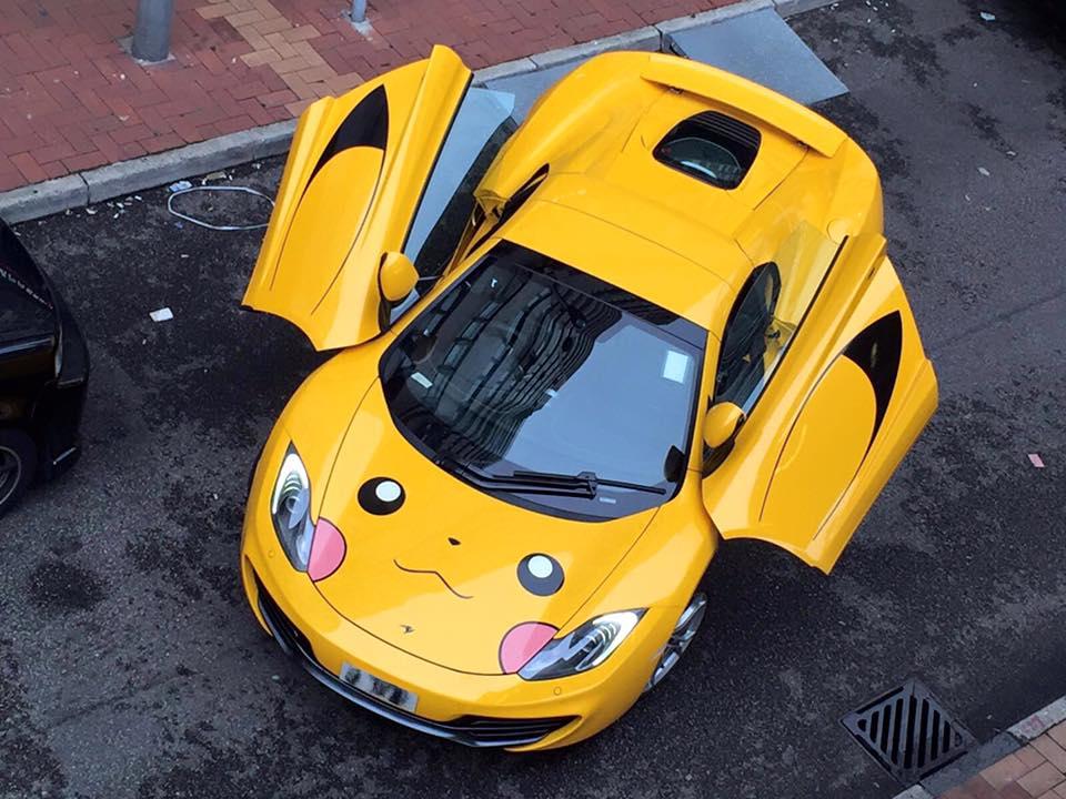 Soi McLaren 12C phong cách Pokemon - 3