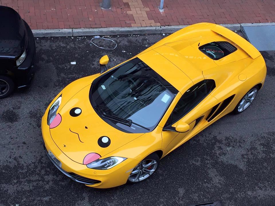 Soi McLaren 12C phong cách Pokemon - 5
