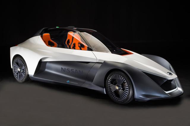 Nissan Bladeglider: Xe thể thao như hình mũi tên - 1