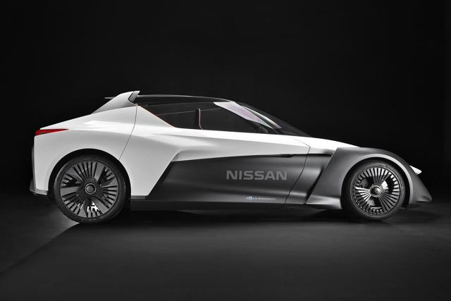 Nissan Bladeglider: Xe thể thao như hình mũi tên - 2