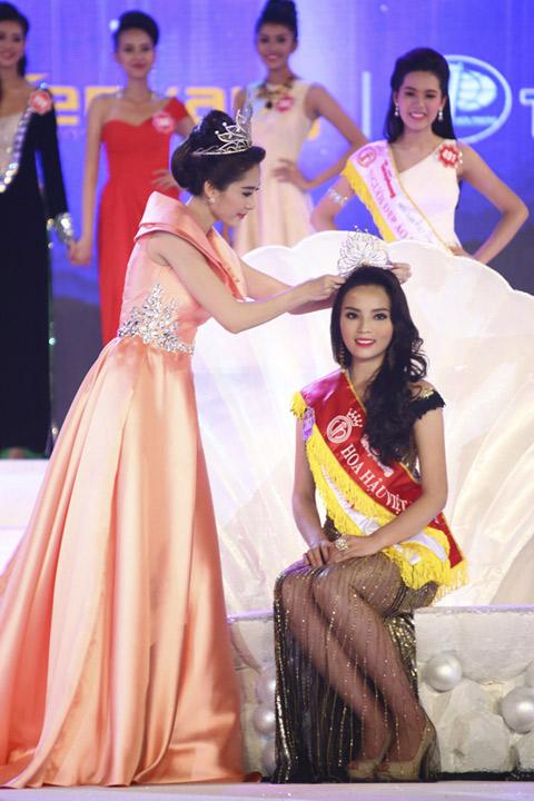 BTC Hoa hậu VN công bố quyết định xử lý vụ Kỳ Duyên - 4