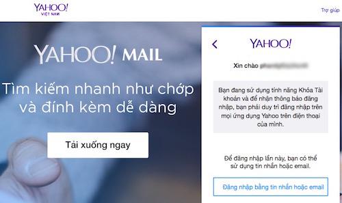 Cách đăng nhập Yahoo! Messenger khi quên mật khẩu - 2