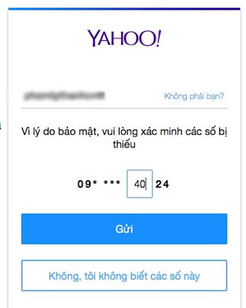 Cách đăng nhập Yahoo! Messenger khi quên mật khẩu - 4
