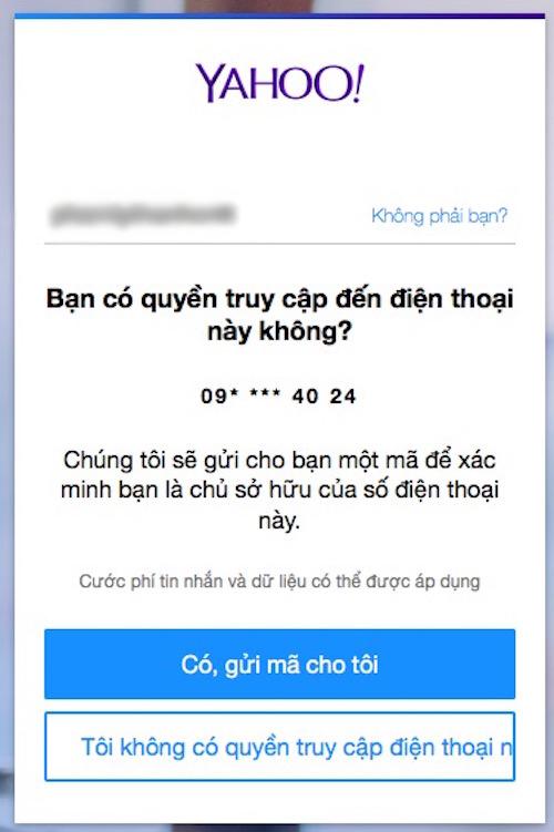 Cách đăng nhập Yahoo! Messenger khi quên mật khẩu - 5