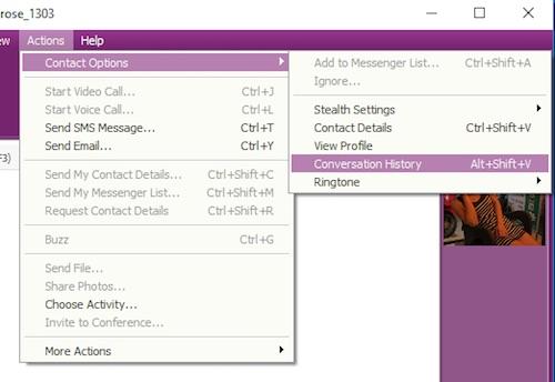 Xem lại lịch sử chat trên Yahoo! Messenger từ 5 năm trước - 1