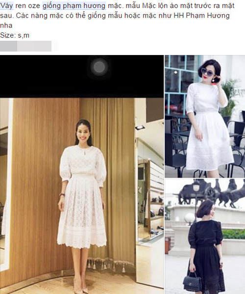 1001 kiểu bán hàng online ăn theo Phạm Hương, Lan Khuê - 5
