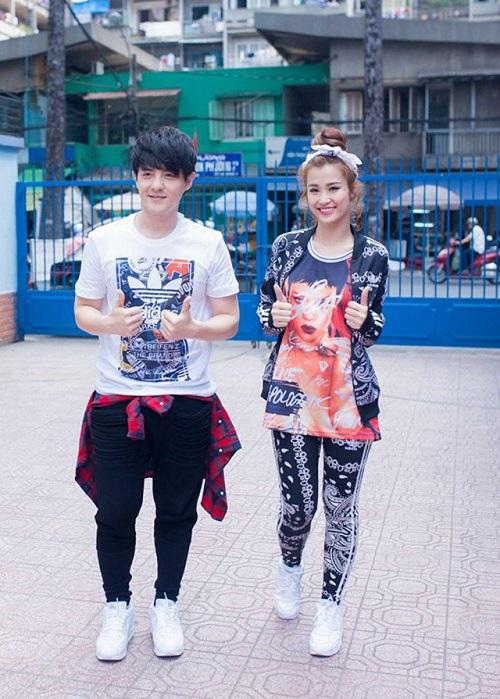 """Mặc đồ đôi """"cute"""" như Đông Nhi - Cao Thắng - 6"""