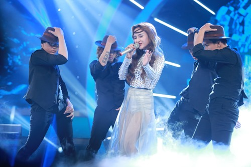 """Quán quân Sao Mai dừng chân ở Top 8 """"Vietnam Idol"""" - 1"""