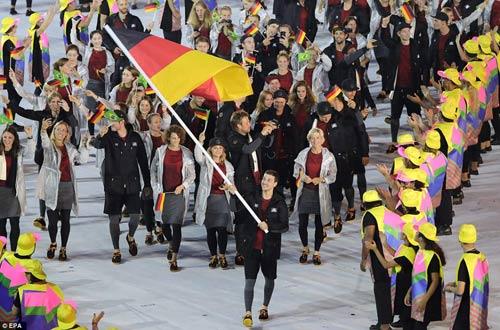 Lễ khai mạc Olympic 2016: Siêu ấn tượng, siêu rực rỡ - 8