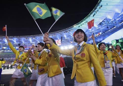 Lễ khai mạc Olympic 2016: Siêu ấn tượng, siêu rực rỡ - 7