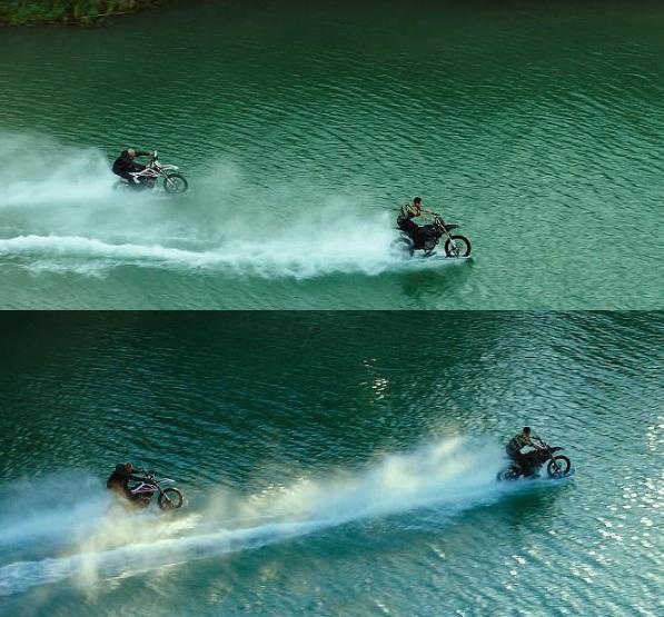 Vin Diesel cưỡi mô-tô lướt sóng truy đuổi Chân Tử Đan - 4