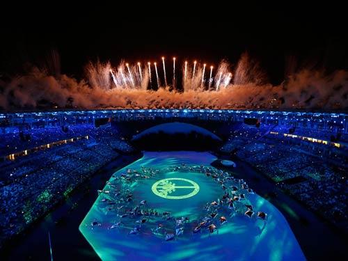 Lễ khai mạc Olympic 2016: Siêu ấn tượng, siêu rực rỡ - 2