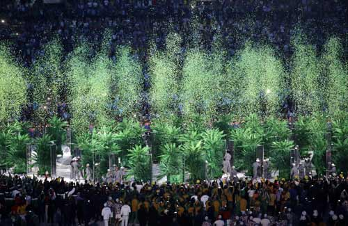 Khai mạc Olympic 2016: Lung linh, huyền ảo và cao đẹp - 6