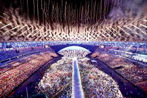 Khai mạc Olympic 2016: Lung linh, huyền ảo và cao đẹp - 10
