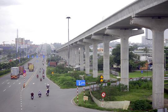 Tuyến metro Sài Gòn đầu tiên đang thành hình - 1