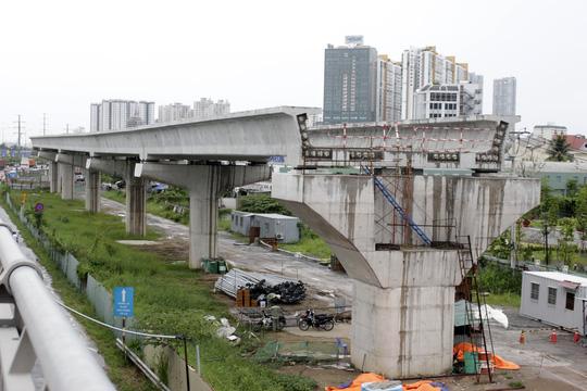 Tuyến metro Sài Gòn đầu tiên đang thành hình - 10