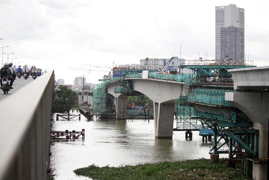 Tuyến metro Sài Gòn đầu tiên đang thành hình - 11