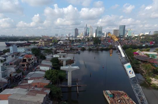 Tuyến metro Sài Gòn đầu tiên đang thành hình - 13
