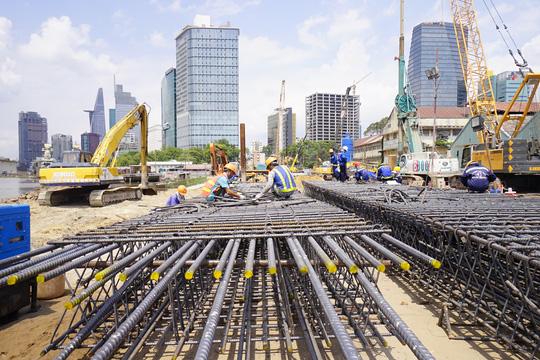 Tuyến metro Sài Gòn đầu tiên đang thành hình - 15