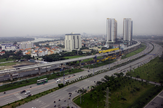 Tuyến metro Sài Gòn đầu tiên đang thành hình - 17