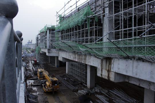 Tuyến metro Sài Gòn đầu tiên đang thành hình - 2