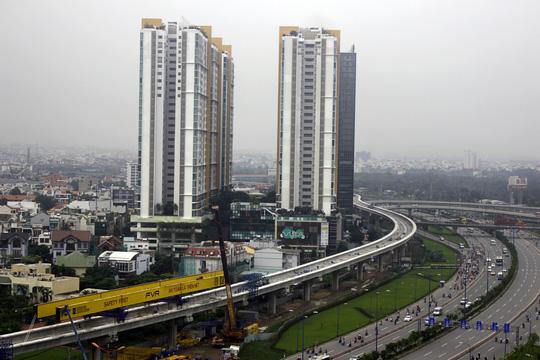 Tuyến metro Sài Gòn đầu tiên đang thành hình - 4