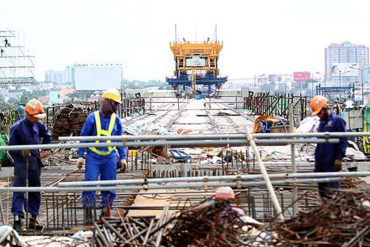 Tuyến metro Sài Gòn đầu tiên đang thành hình - 8