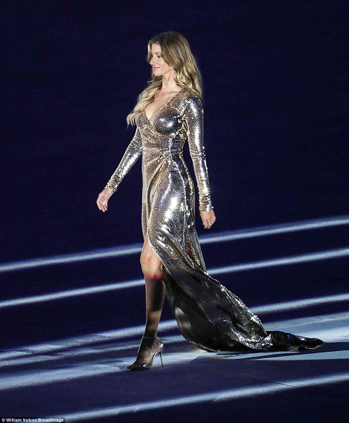 "Gisele Bundchen ""tỏa sáng"" nhất đêm khai mạc Olympic Rio - 2"