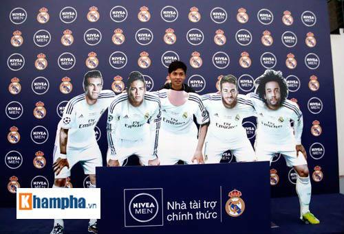 Fan Real Madrid háo hức cho cuộc tranh tài ở Hà Nội - 1