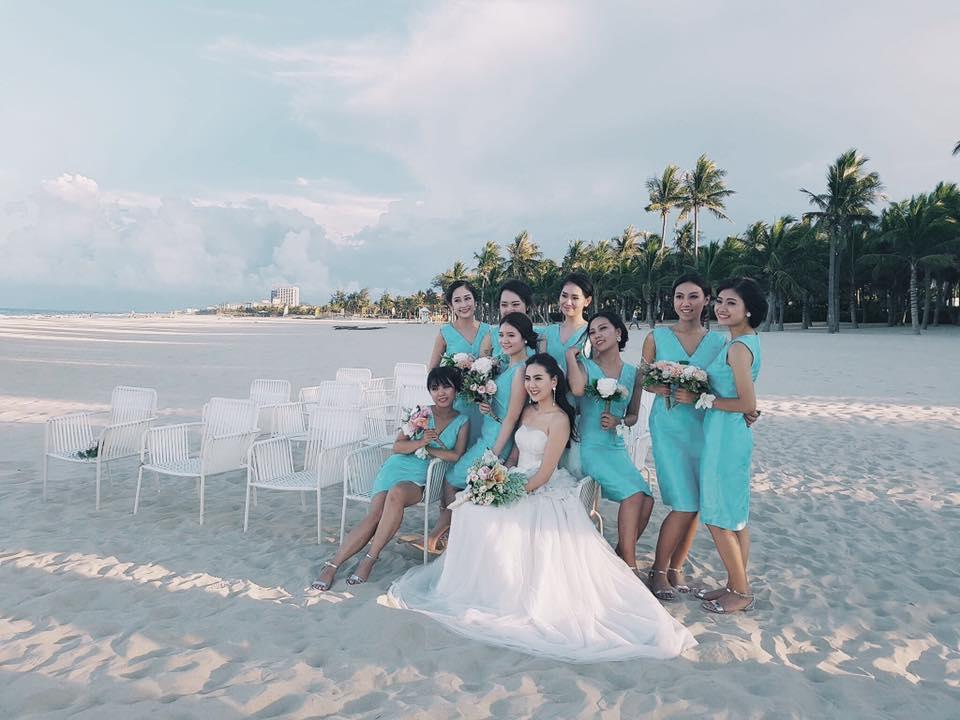 MC Mai Ngọc rạng rỡ chụp ảnh cưới trên biển - 5