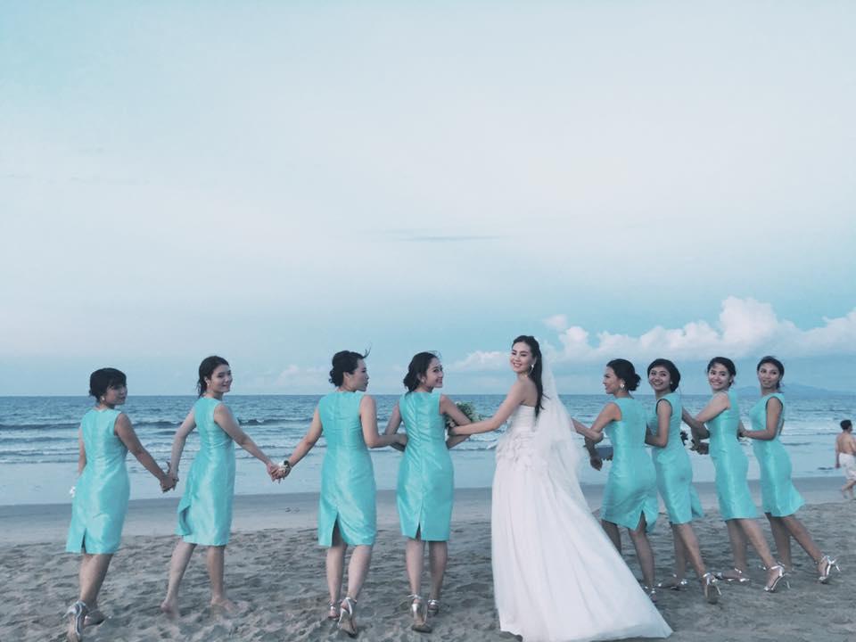 MC Mai Ngọc rạng rỡ chụp ảnh cưới trên biển - 4