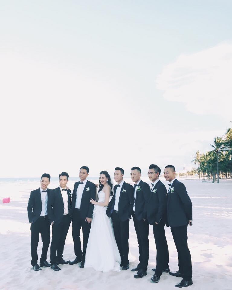 MC Mai Ngọc rạng rỡ chụp ảnh cưới trên biển - 3