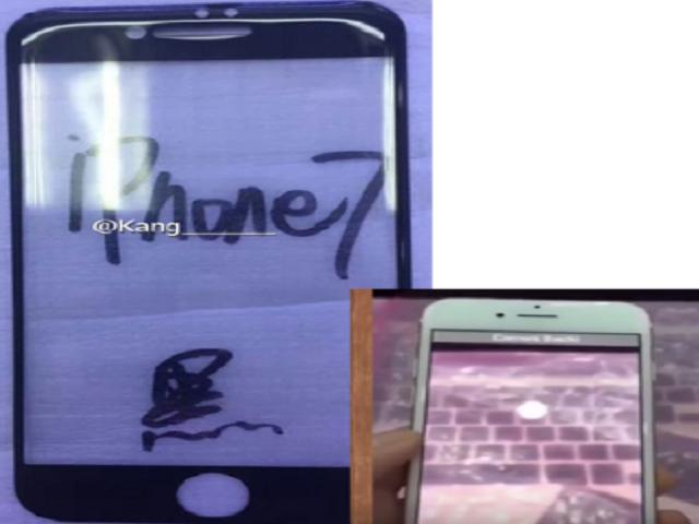 Thiết kế phía trước của iPhone 7 giống như khuôn mặt mỉm cười? - 1