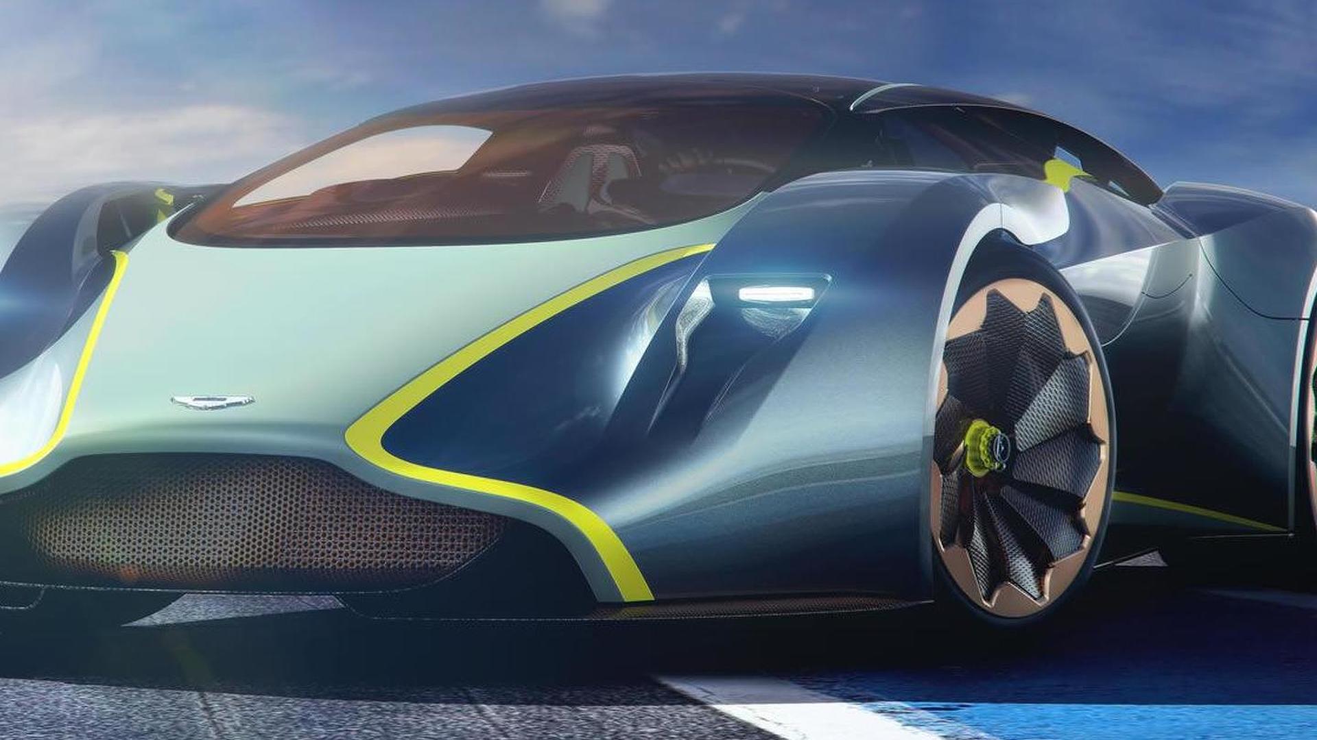 Siêu phẩm Aston Martin V8 Supercar lộ diện - 1