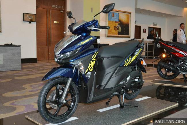 Các nguồn tin cho biết, Yamaha Ego Avantiz 2016 mới ra mắt tại Malaysia vào nửa cuối tháng trước với giá bán 5.700 RM (~ 32 triệu đồng). Dịp ra mắt xe ga mới này được tổ chức gắn liền với sự kiện Triển lãm Mô-tô thế giới của Yamaha ở quảng trường Kuala Lumpur.