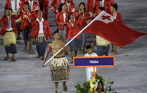"""Olympic: Tan chảy với """"nam thần"""" 6 múi cầm cờ - 1"""