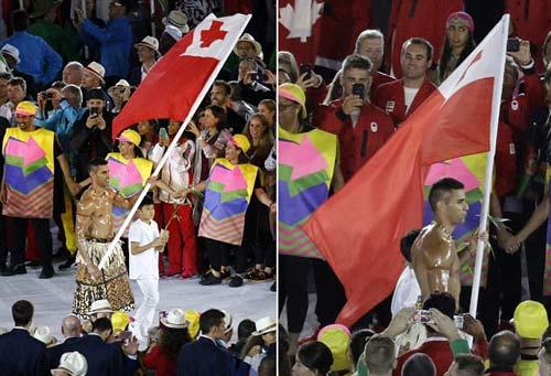 """Olympic: Tan chảy với """"nam thần"""" 6 múi cầm cờ - 6"""
