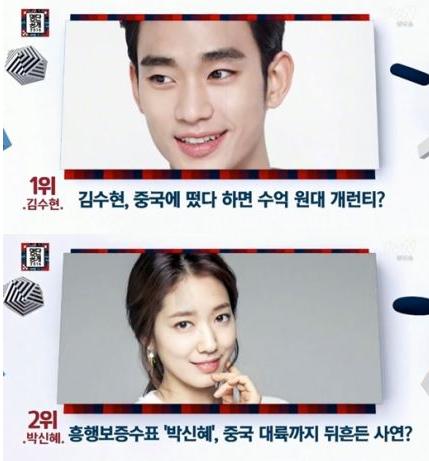 Kim Soo Hyun: Sao Hàn được yêu thích số 1 ở TQ - 1