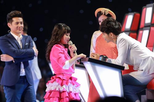 Cô bé hát Quốc ca 12 tuổi gây sốt The Voice Kids - 3