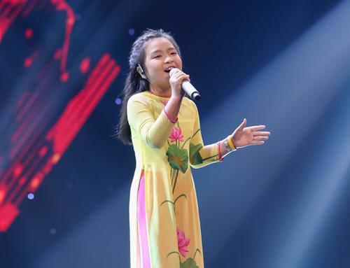 Cô bé hát Quốc ca 12 tuổi gây sốt The Voice Kids - 5